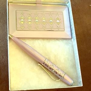 Pen and business card set never used.